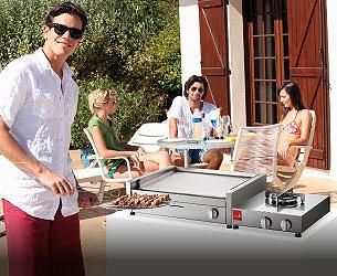barbecue da appoggio