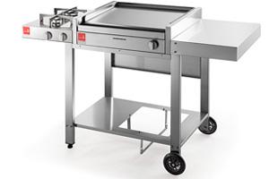 Barbecue A Carrello Aperto